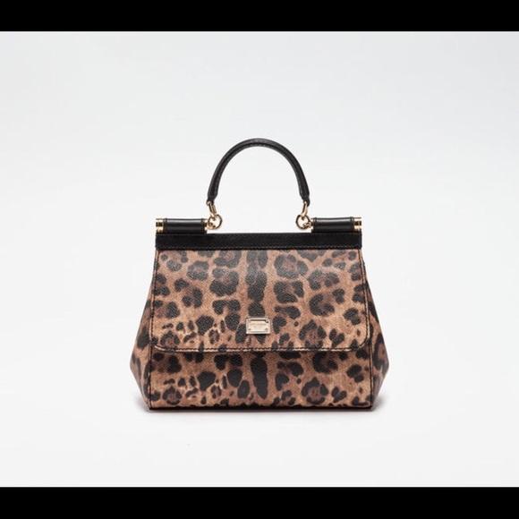 Dolce   Gabbana Bags   Dolce Gabbana Miss Sicily Leopard Bag   Poshmark 9fd1e3529f